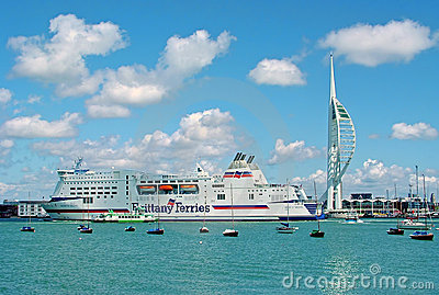 Portsmouth Harbour Editorial Image