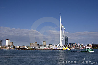 Portsmouth Spinnaker Tower Editorial Photography