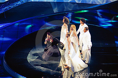 Portugal at Eurovision 2008  Editorial Stock Photo