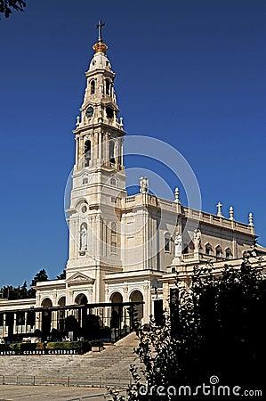 Portugal, Fatima; view of the basilica
