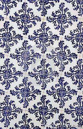 Free Portugal, Historical Azulejo Ceramic Tiles Stock Photo - 39718070