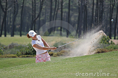 Portugal ladies Open 2007, Oitavos Editorial Stock Photo