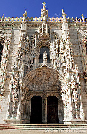 Free Portugal, Lisbon: Jeronimos Monastery Stock Images - 5862544