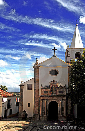 Free Portugal Obidos; A Medieval City Royalty Free Stock Images - 5879139