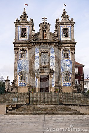 Portugal, oporto the ancient church of carmo
