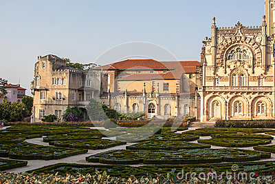 Portugal, Serra do Bussaco garden