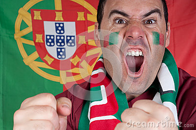 Portugal soccer fan