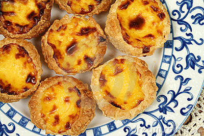 Portugese pastries