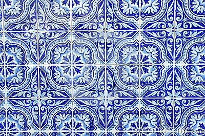 portugiesische blaue fliesen stockbild bild 29869731. Black Bedroom Furniture Sets. Home Design Ideas
