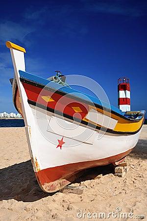 Free Portuguese Fishing Boat Royalty Free Stock Photo - 11646065