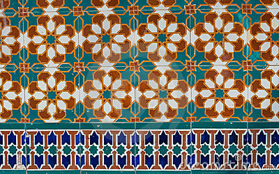 Portuguese glazed tiles 230