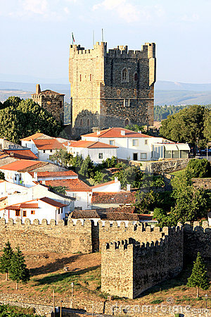 Free Portuguese Historical Fortress Braganca Royalty Free Stock Images - 16981959