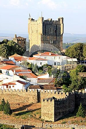 Portuguese historical fortress Braganca