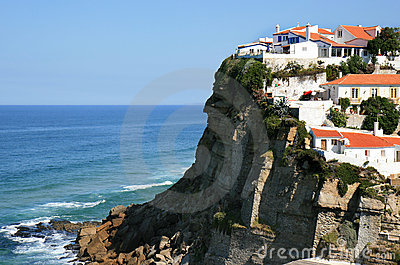Portuguese white houses of Azenhas do Mar