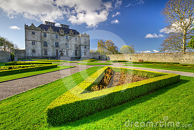 Portumna Castle and gardens in Co. Galway