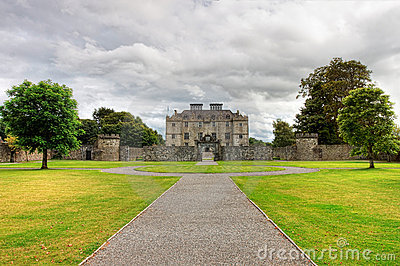 Portumna Castle and gardens in Co.Galway - Ireland