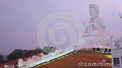 PosÄ…g Guan Yin, Wat Huai Pla Kang, Chiang Mai, Tajlandia zbiory