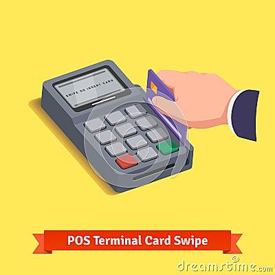 Transaction terminal pos