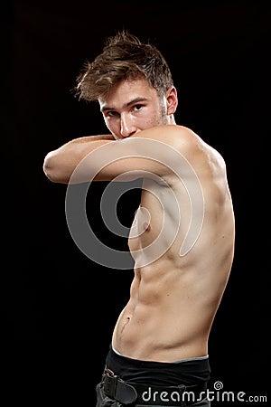 Photo de femme nue musclé, elle sont bodybuildeuse