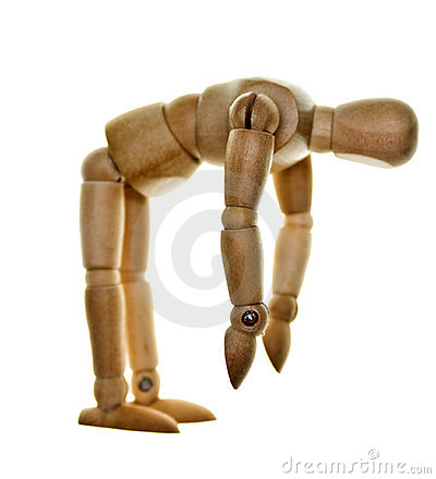 Free Posed Wooden Mannequin Stock Photos - 8480443