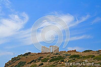 Poseidon, Greek skyscape