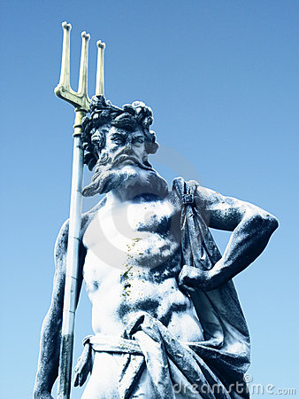Poseidon Sculpture