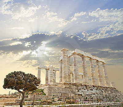 Poseidon Temple, Greece