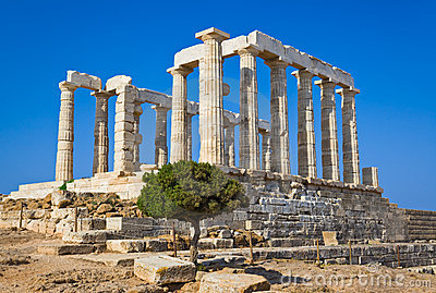 Poseidon Temple near Athens, Greece