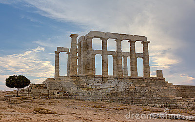 Poseidon temple, Sounio, Greece