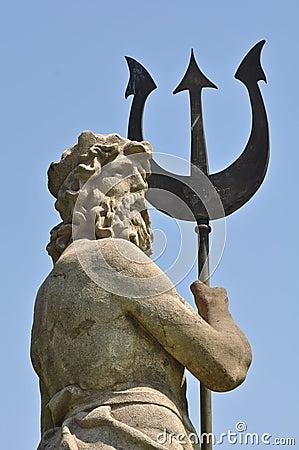 Poseidon With Triton From Atlantis Stock Image - Image ...