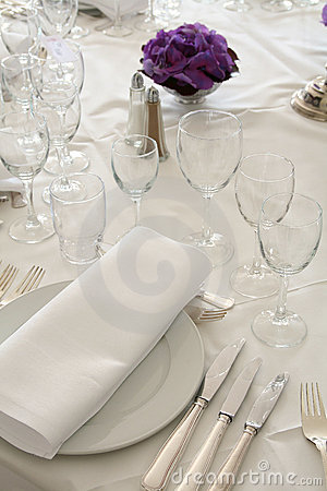 Free Posh Dinner Stock Photo - 5081420