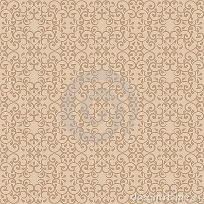 Posh Pattern in Beige