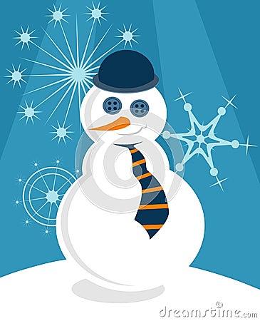 Posh Snowman