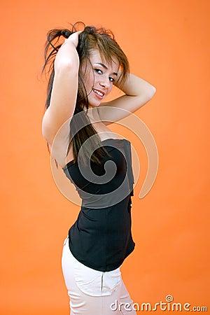Posing Woman 1
