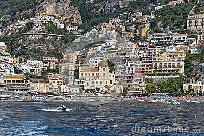 Positano Editorial Photo