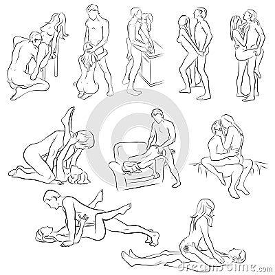 bandes de sexe Position de sexe