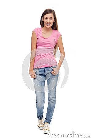 Position femelle d adolescent