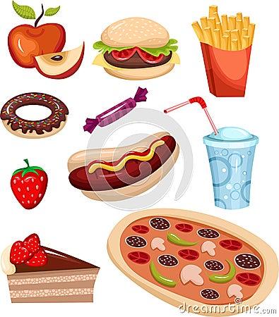 Positionnement d aliments de préparation rapide