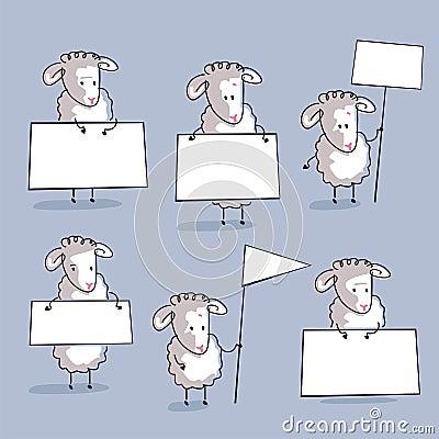 Positionnement de moutons