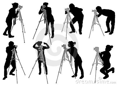 Positionnement De Photographe Images stock - Image: 9172934