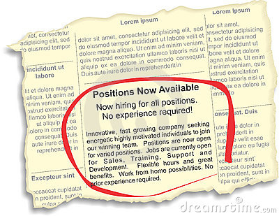 Positions Available Ad