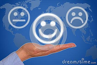 Positive business feedback