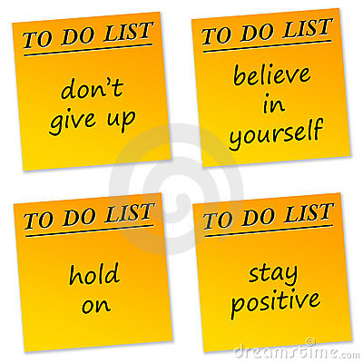 Free Positive Messages Royalty Free Stock Image - 19168666
