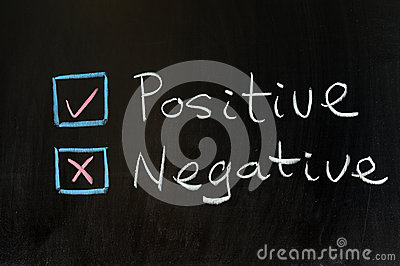 Positive or negative