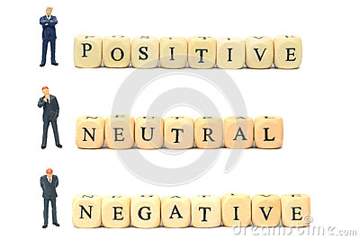 Positive negative and neutral