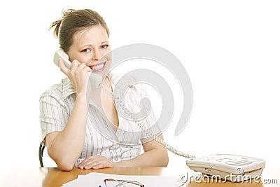 Positive phone talk
