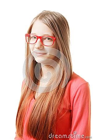Positive teenage girl