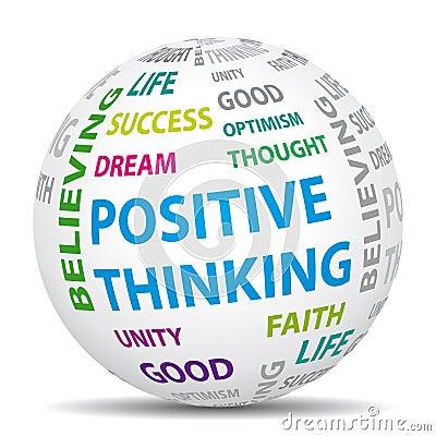 Free Positive Thinking World. Royalty Free Stock Photography - 30018247