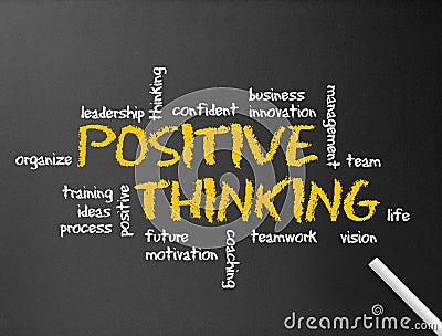 Positivt tänka