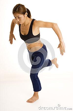 Posizione accoccolata monca di una gamba 1